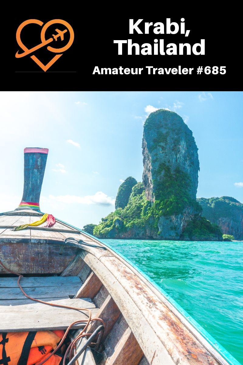 Travel to Krabi, Thailand (Podcast) | Places to Visit in Krabi #krabi #thailand #travel #trip #vacation #beach #things-to-do #markets #food #restaurants#itinerary #emerald-pool