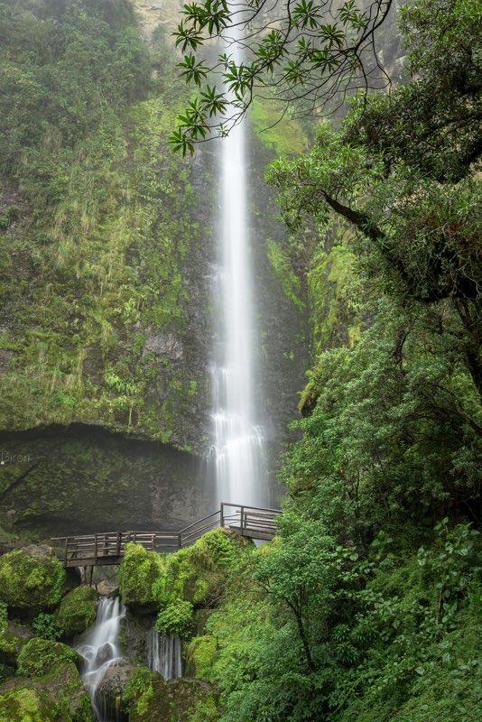 El Chorro Giron Falls - Ecuador