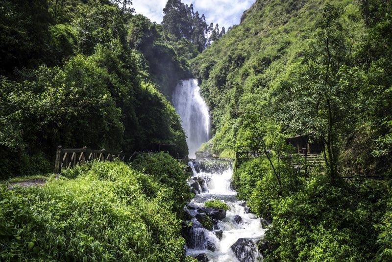 Peguche Waterfall - Ecuador
