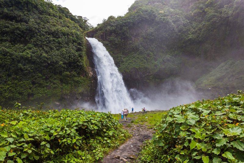 Rio Malo Waterfall - Ecuador