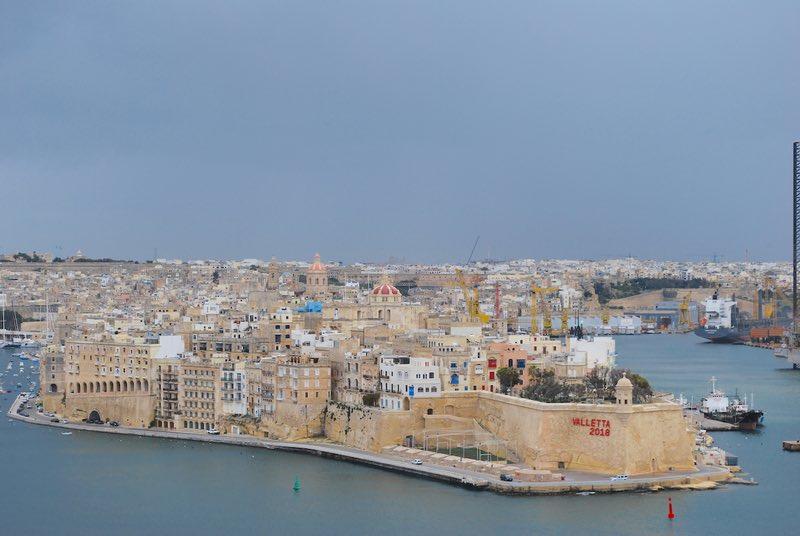 Barakka Gardens View - Valletta, Malta