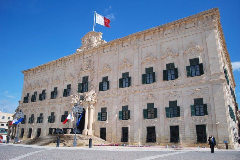 Castile Palace - Valletta, Malta
