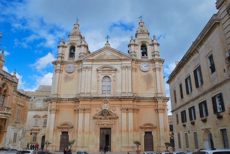 Cathedral in Mdina