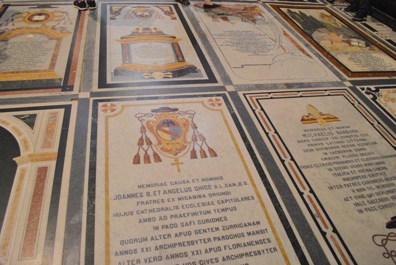 Floor Memorials St Paul's