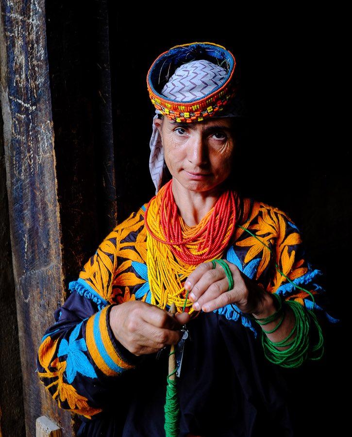 Kalasha Woman