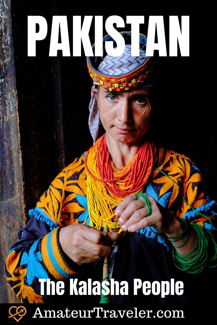 The Kalasha People of Northern Pakistan - The Kalash or Kalasha people are fair-skinned and sometimes blue-eyed. They are animists which makes them unusual in the Muslim nation #asia #travel #trip #vacation #pakistan #kalash #kalasha