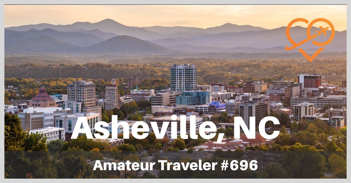 Things to do in Asheville, NC - Where to eat, what to do and what to see when you visit Asheville North Carolina: mountains, mansions, musicians, hippies, BBQ and drum circles. (Podcast)