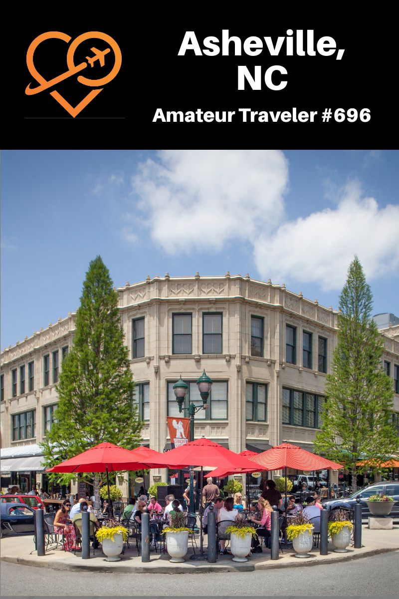 Things to do in Asheville, NC - Where to eat, what to do and what to see when you visit Asheville North Carolina: mountains, mansions, musicians, hippies, BBQ and drum circles. (Podcast) #asheville #north-carolina #what-to-do-in #travel #trip #vacation #food #music