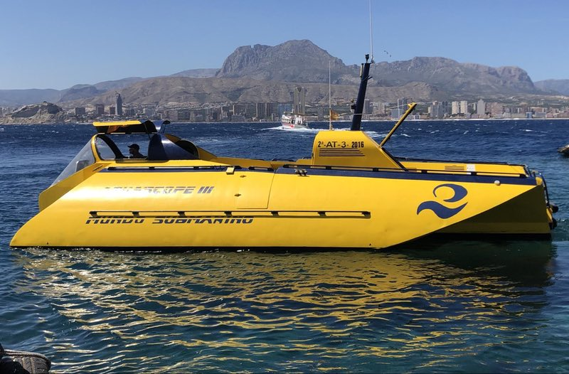 Submarine - Benidorm Island