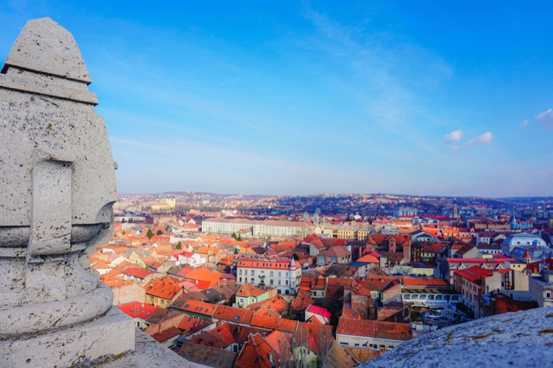 View from Oradea Townhall - Romania