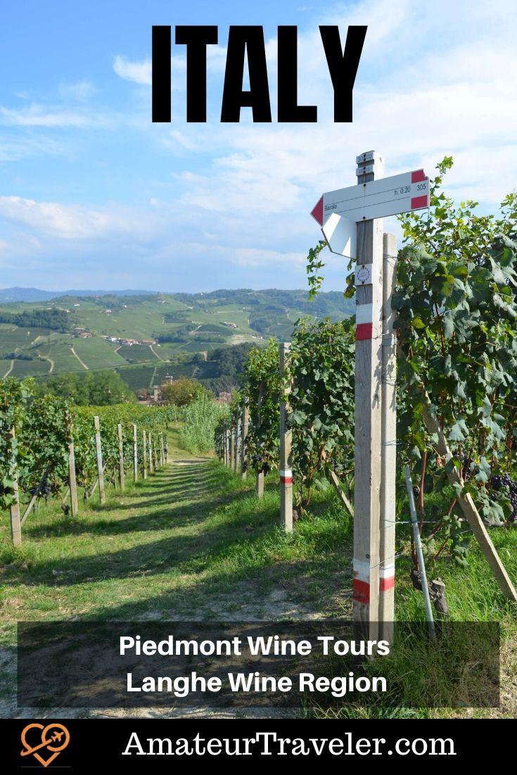 Piedmont Wine Tours - Langhe Wine Region | Italy wine tours in northern Italy #wine #tour #italy #piedmont #piedmonte #langhe #what-to-do-in