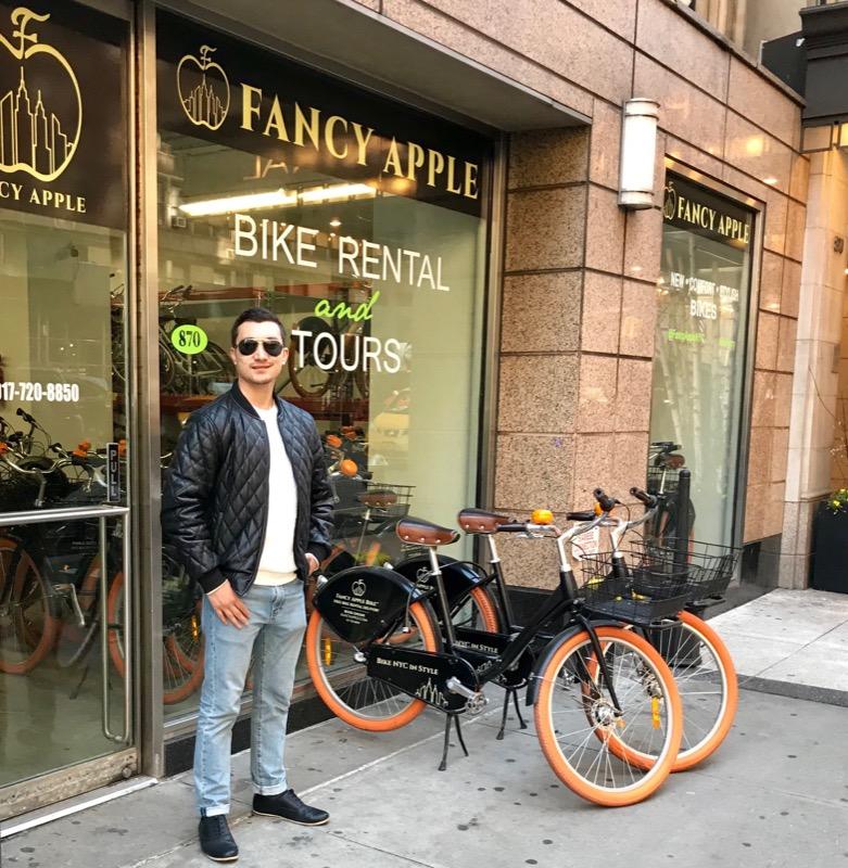 Fancy Apple Bike Rental NYC