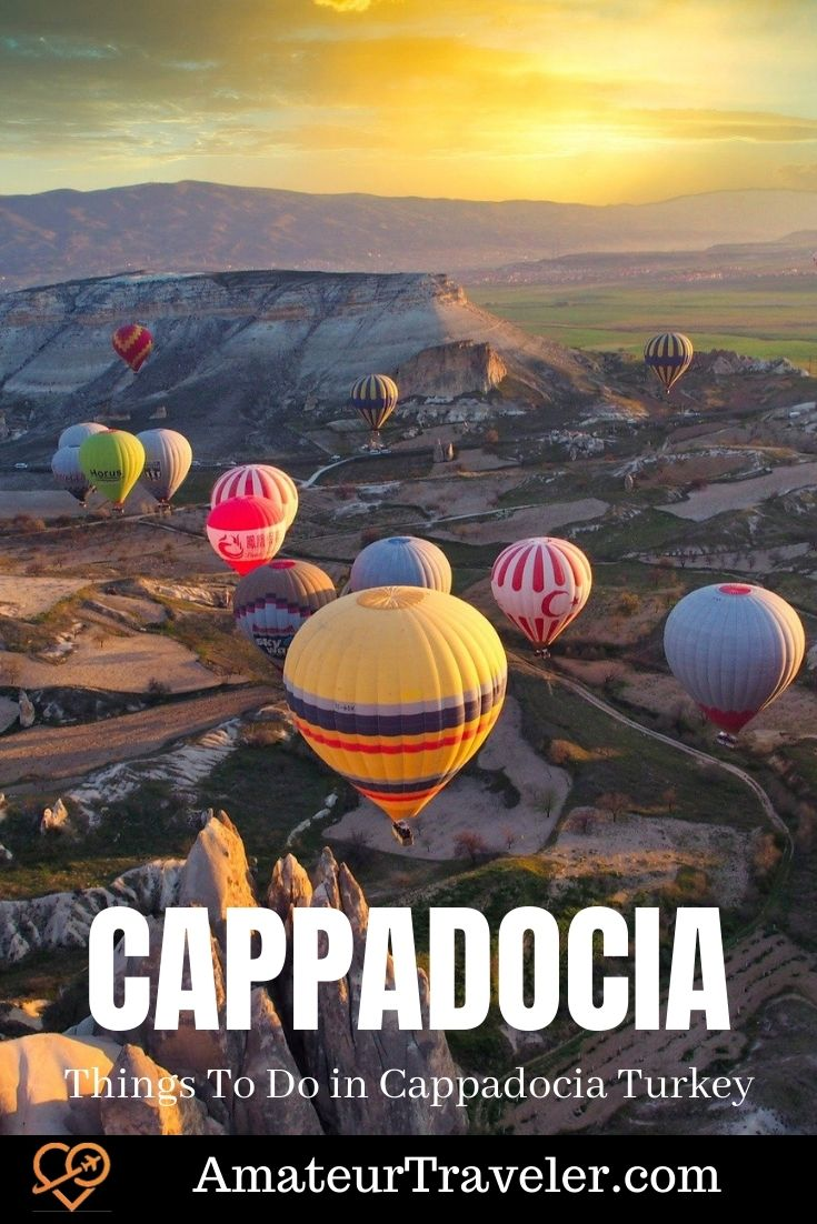 Things to do in Cappadocia Turkey | Places to see in Cappadocia #turkey #cappadocia #travel #trip #vacation #what-to-do-in #things-to-do-in #places #cities #history