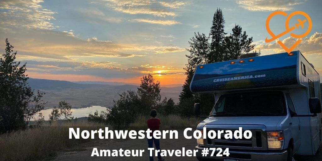 Travel to Northwestern Colorado (Podcast) - Dinosaur National Monument and Rocky Mountain National Park