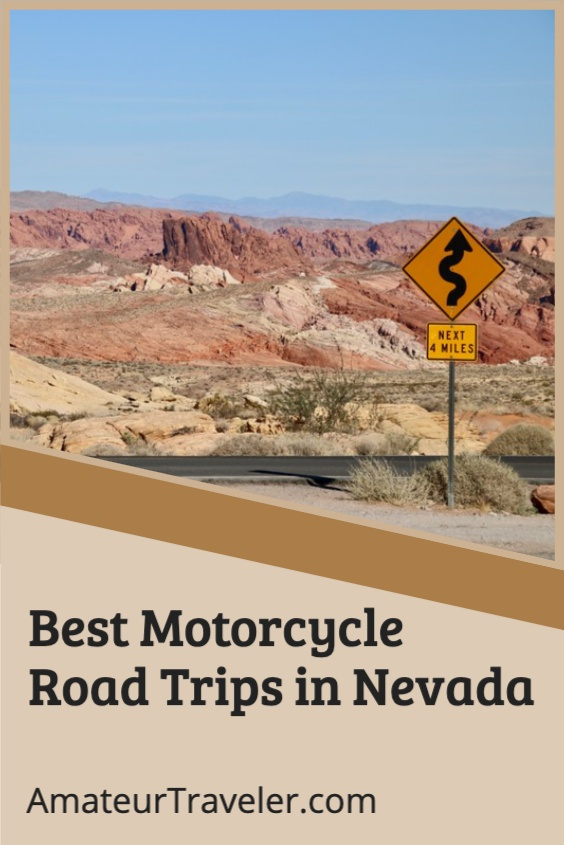 Best Motorcycle Road Trips in Nevada #nevada #usa #motorcycle #road-trip #travel #trip #vacation #motorbike