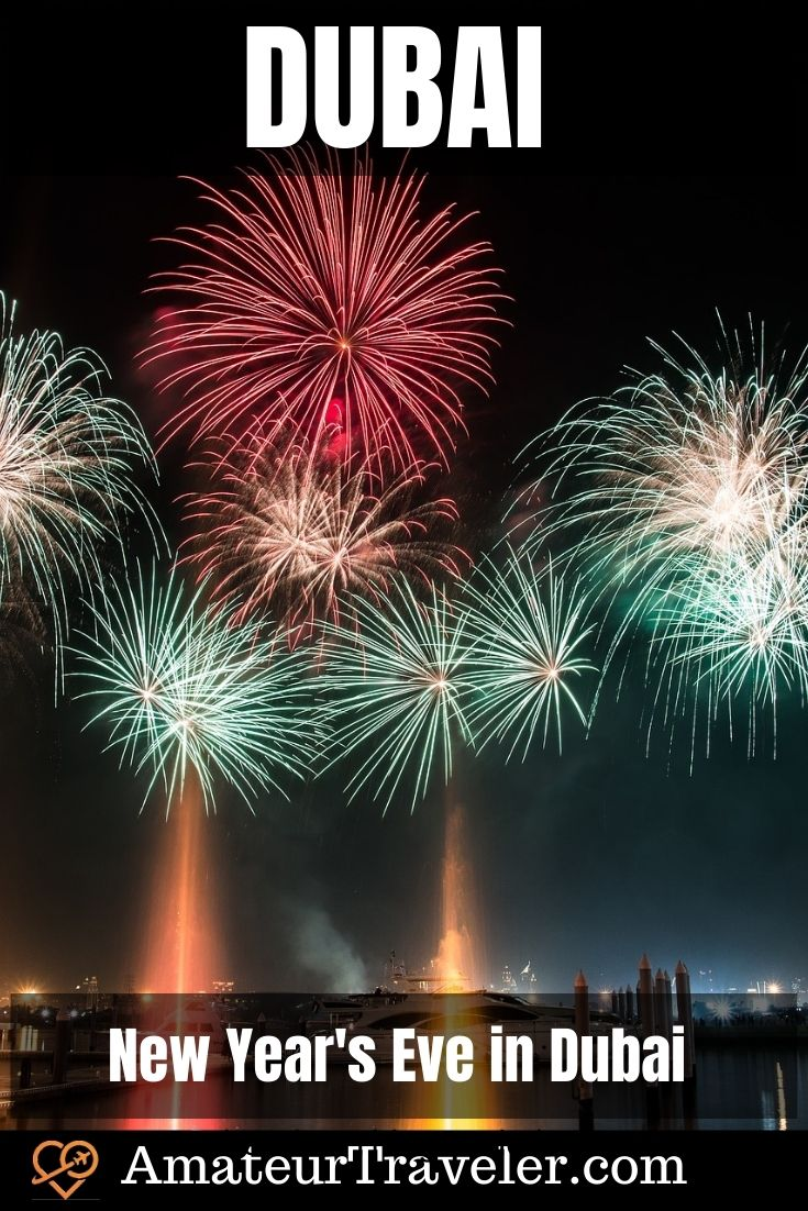 New Year's Eve in Dubai - 15 Places to Celebrate New Year's Eve in Dubai #uae #middle-east #dubai #newyears #new-years #travel #trip #vacation