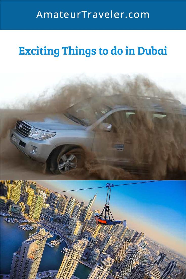 Exciting Things to do in Dubai   Adventure Travel in Dubai #travel #trip #vacation #dubai
