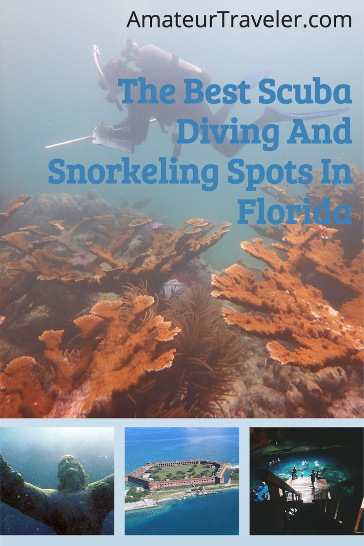 The Best Scuba Diving And Snorkeling Spots In Florida #florida #travel #trip #vacation #scuba #snorkel #beach