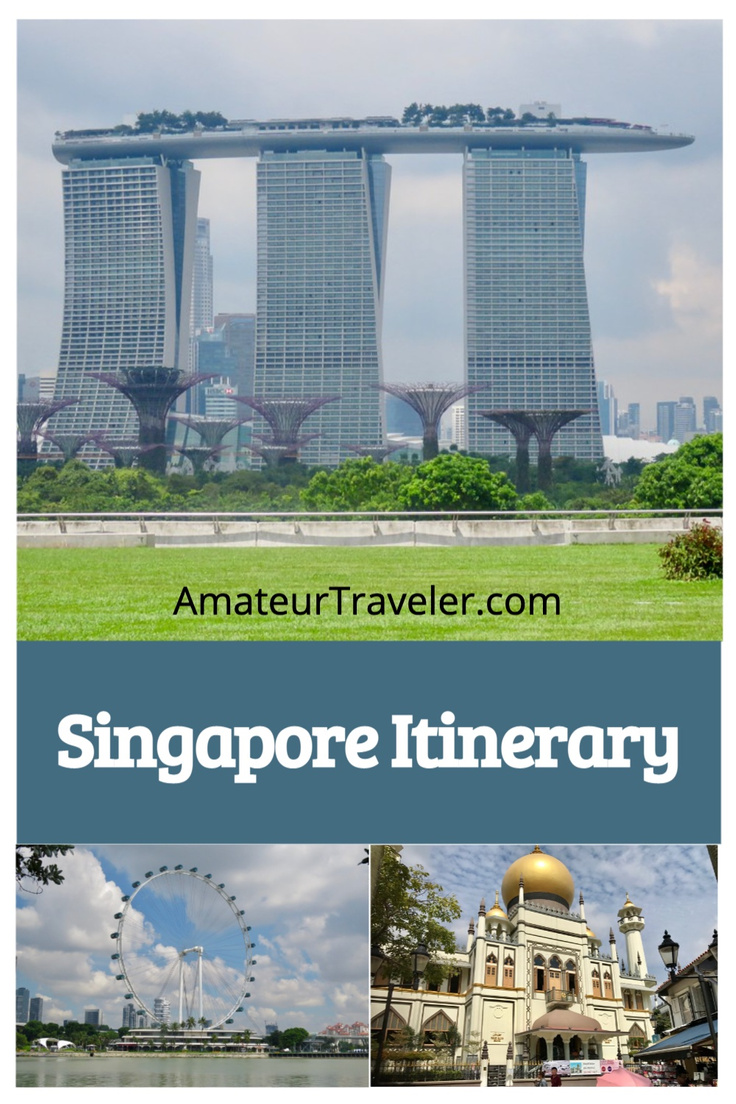 Singapore Itinerary - Best Places to Visit in Singapore in 3 days | 3 day itinerary for Singapore. An itinerary that includes some popular sites, gardens, temples, a mosque, fireworks and hawker centers |#singapore #food #hawker-center #marina-bay-sands #travel #trip #vacation