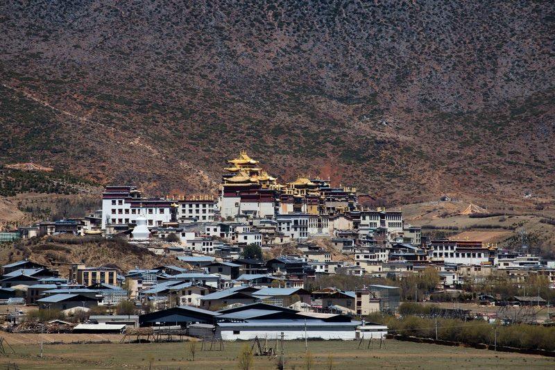 Songzalin Monastery near Shangri-la in Yunnan