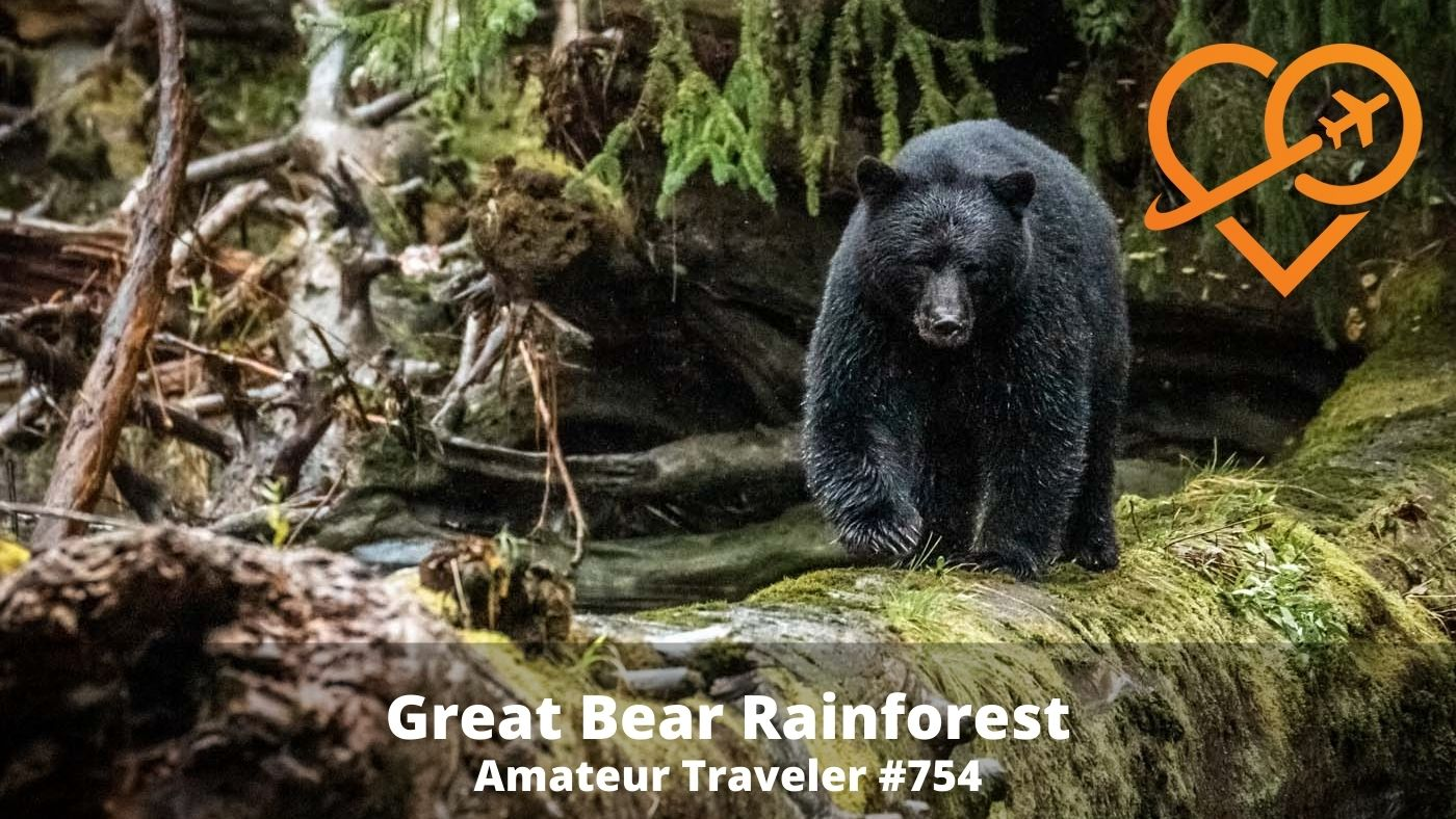 Travel to the Great Bear Rainforest, British Columbia (Podcast)