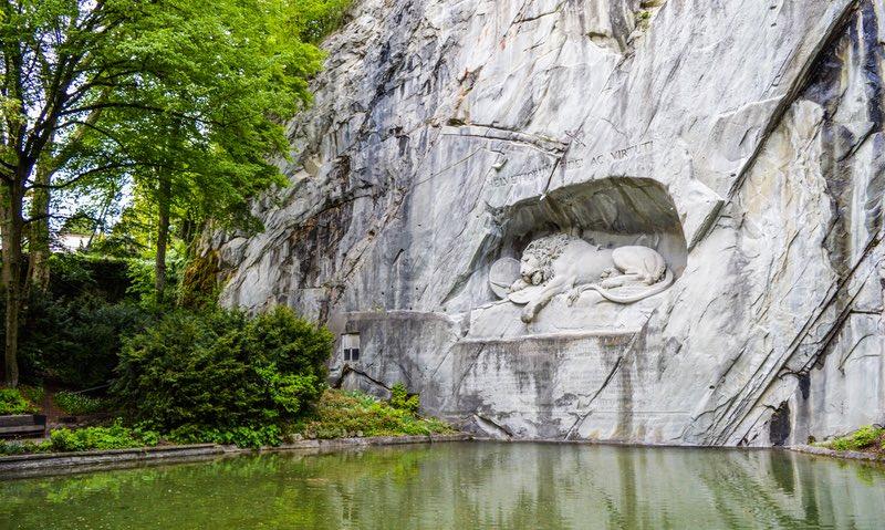 Lucerne SLeeping Lion