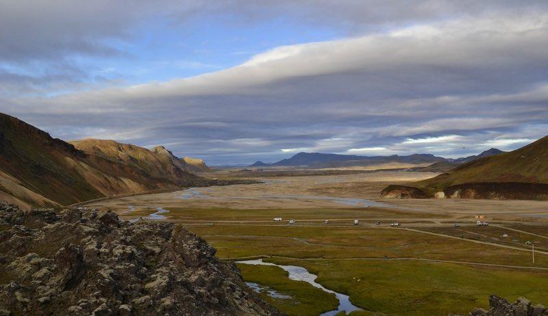 Laugavegur Trail in Iceland