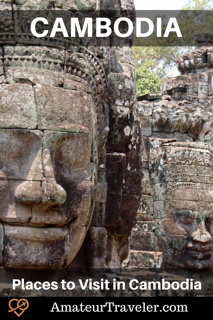 Places to Visit in Cambodia - This blog post is about an overland trip through Cambodia starting in Saigon and ending in Bangkok #places #cambodia #angkor-wat #angkor-tom #siem-reap #things-to-do-in #southeast-asia #Phnom-Penh