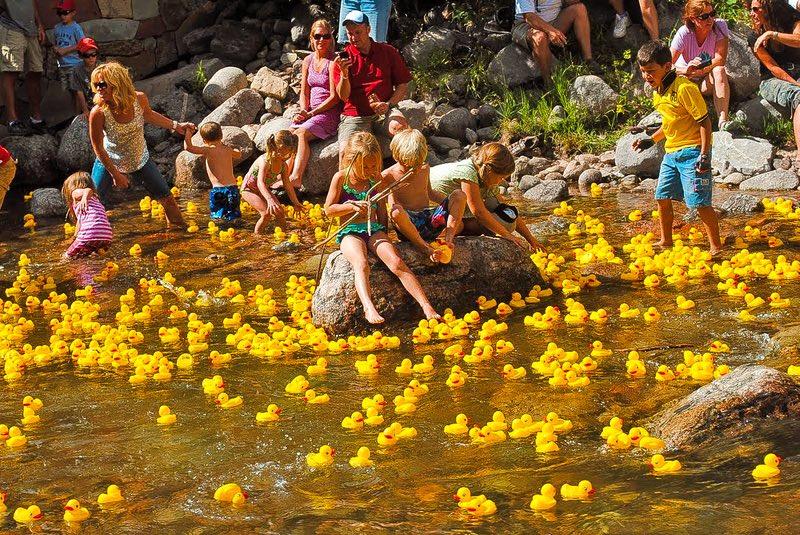 Vail Duck Race
