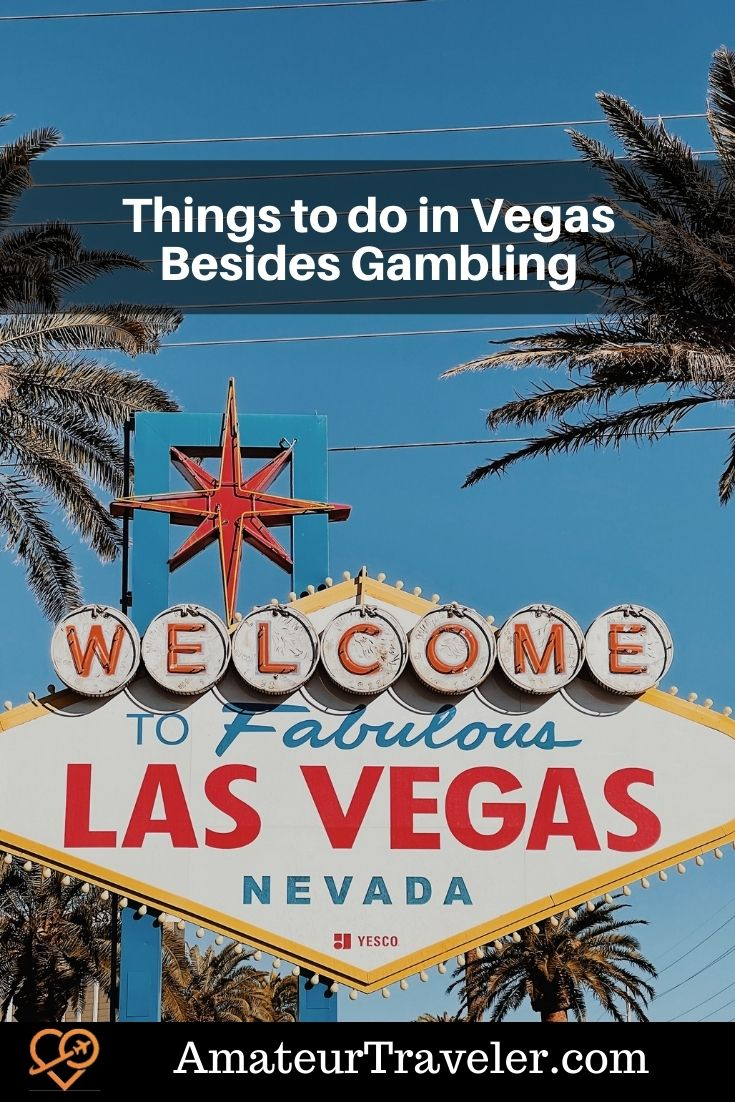 Things to do in Vegas Besides Gambling - Top Cultural Experiences Off the Strip #travel #vegas #las-vegas #things-to-do