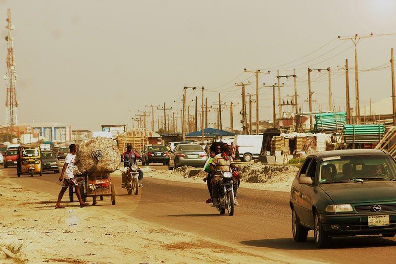 Lagos Nigeria traffic