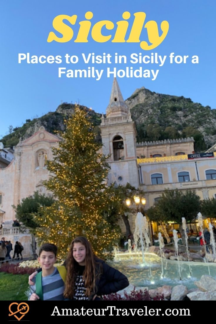 Places to Visit in Sicily for a Family Holiday | Things to do in Sicily #sicily #kids #family #italy #travel #trip #vacation #places #things-to-do-in