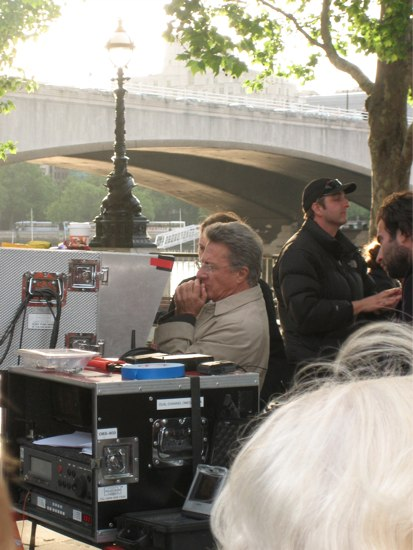 Dustin Hoffman and My Day as Paparazzi