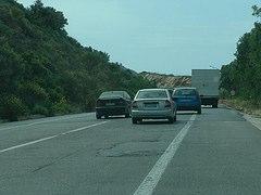Driving on Crete